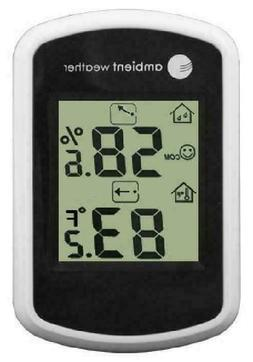 Ambient Weather WS-03 Compact Indoor Temperature and Humidit
