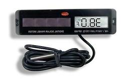 Cooper-Atkins SP160-0-8 Digital Panel Thermometer with Black
