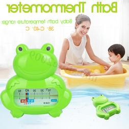 Baby Infant Bath Tub Water Temperature Tester Toy Frog Cute