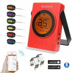 Barbecue Meat Thermometer Wireless Bluetooth Wifi BBQ LCD Re