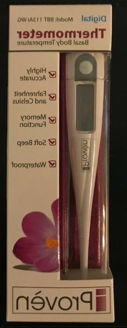 Basal Body Thermometer BBT-113Ai -Temperature Tracking for W