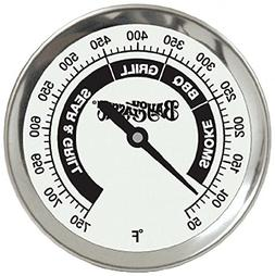 Bayou Classic Grill Thermometer; Stainless Steel; Easy To Re