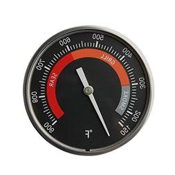 "BBQ 3"" Dial Grill Temperature Gauge Thermometer for Big Gree"