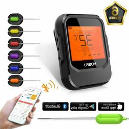 Bbq Digital Meat Grill Thermometer Bluetooth Wireless Remote