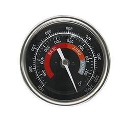 WANRAY BBQ Grill Temperature Gauge Waterproof Large Face for