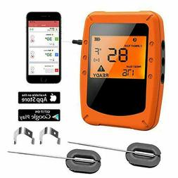 Bbq Thermometer Digital Meat Bluetooth With 2 Waterproof Pro