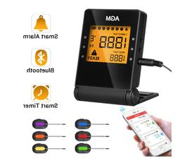 BBQ Wireless Grilling Cooking Food Thermometer with APP for