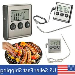 BEST Cooking Thermometer Instant Read with Stainless Long Pr