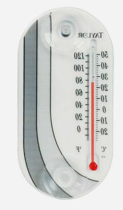 TAYLOR BLACK AND WHITE DECO TUBE THERMOMETER -Mfg# 4763 - So