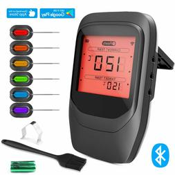 bluetooth cooking thermometer for grill digital wireless