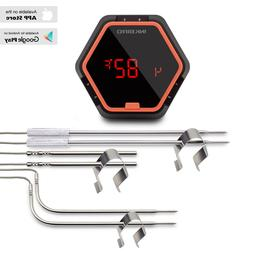 Inkbird Bluetooth Digital BBQ Thermometer Grill Oven Smoke 6