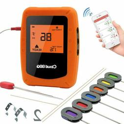 DareTang Bluetooth Meat Thermometer,Instant Read/APP WIFI Re