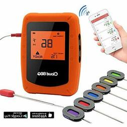Bluetooth Meat Thermometer, Instant Read/APP WIFI Remote/Ala