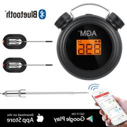 Bluetooth Wireless Meat Thermometer 2 Probes For IOS Android