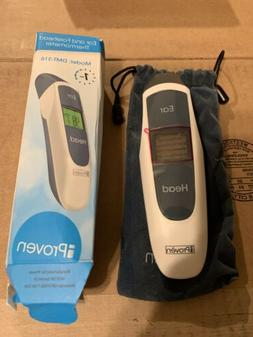 BRAND NEW iProven Ear and Forehead Thermometer DMT-316B 1 S