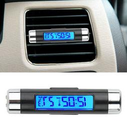 car auto led digital clock thermometer indoor