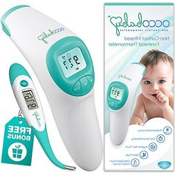 clinical non contact forehead thermometer