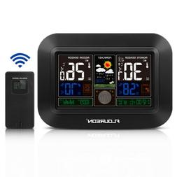 Color Large LCD Weather Station Hygrometer Thermometer Humid