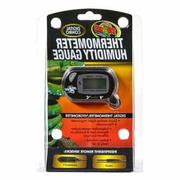 ZOO MED Digital Combo Thermometer Humidity Gauge / Hygromete