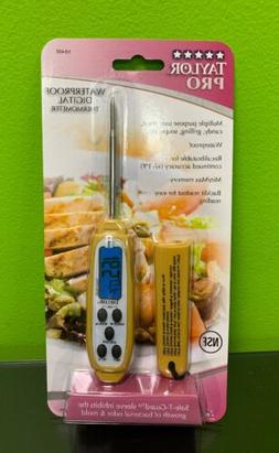 Taylor Commercial Waterproof Digital Thermometer 9848E