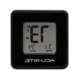 AcuRite 01186M Compact Indoor Thermometer with High & Low Re