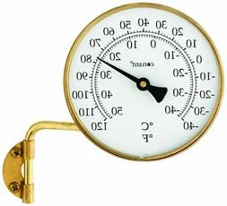 Conant Dial Thermometer - Celsius, Fahrenheit Reading - Wall