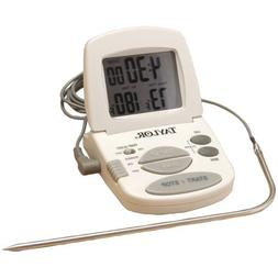 TAYLOR 1470N Digital Cooking Thermometer/Timer Home Kitchen