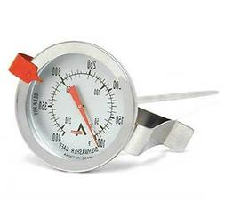 Winco 2-Inch Dial Deep Fry/Candy Thermometer with 12-Inch Pr