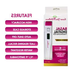 Digital Basal Thermometer for Fertility Predict Ovulation wi