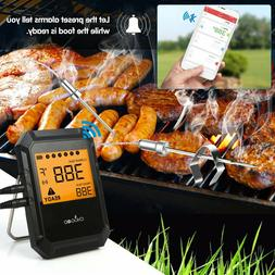 Digital Bluetooth Wireless Cooking Probe Meat Thermometer fo