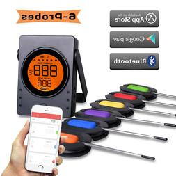 Digital Bluetooth Wireless Meat Thermometer Cooking BBQ Ther