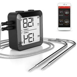 Digital BT Intelligent Barbecue Meat Thermometer BBQ Food Co