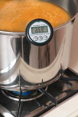 Digital Candy Thermometer with Stainless steel Pot Clip, Ins