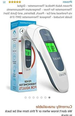 Digital Ear Forehead Thermometer iProven DMT316B