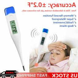 Digital Fever Thermometer for Adults and Kids, Medical Recta