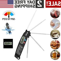 digital food meat thermometer instant read probe