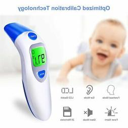 Digital Forehead and Ear Thermometer Dual Baby And Adult Inf