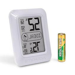 Digital Hygrometer And Thermometer White Home Kitchen Suppli