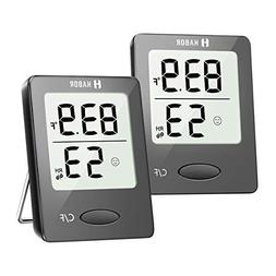digital hygrometer indoor thermometer 2 pack humidity