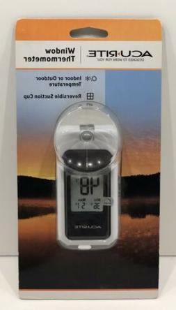 AcuRite Digital Indoor/Outdoor Window Thermometer New
