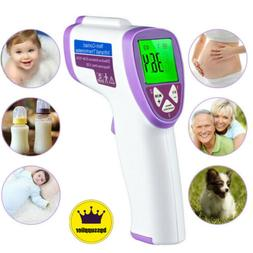 Digital Infrared Thermometer LCD Non-contact IR Adult Baby K