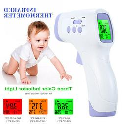 Digital Infrared Thermometer Non-contact IR Forehead Ear Bod