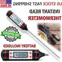 Digital Instant Read Food Meat Thermometer for Kitchen Cooki