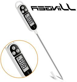 Digital Instant Read Meat Thermometer Kitchen Cooking Food C