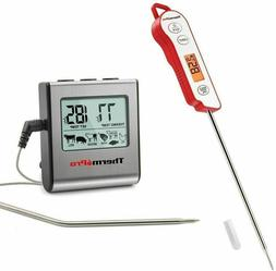 Digital Instant Read TP15&TP16 Cooking Meat Thermometer Cloc
