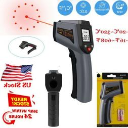 Digital IR Infrared Thermometer Non Contact Temperature LCD