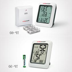 Digital LCD Indoor Outdoor TP60-50 Thermometers Hygrometer H