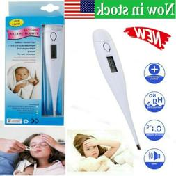 Digital LCD Medical Clinical Body Thermometer Measure Temper
