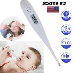 Digital LCD Medical Thermometer Heating Fever Temperature Ba