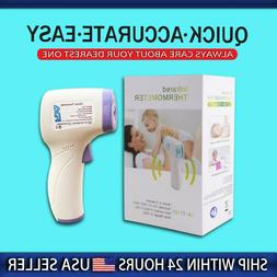 Digital LCD Non-contact Infrared Thermometer Forehead Body T